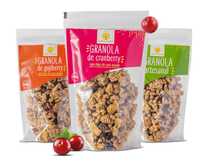 Granolas Made in Natural